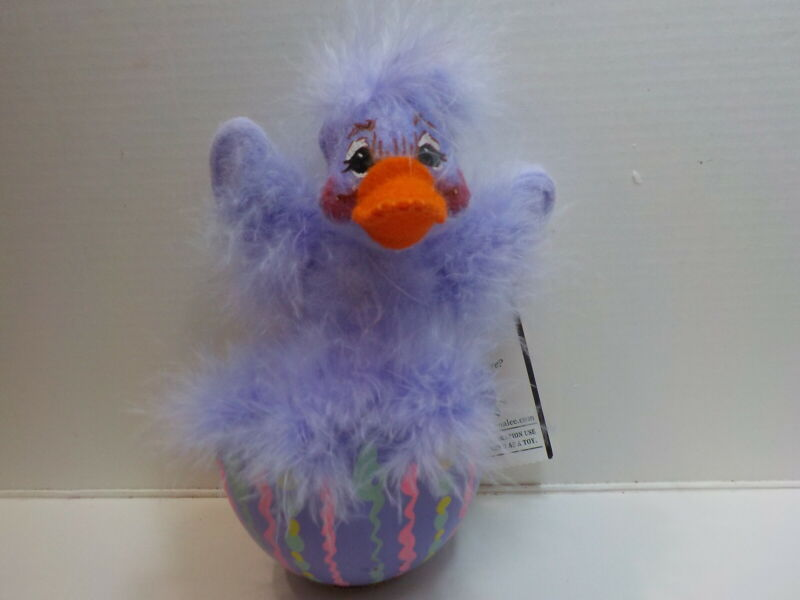 Annalee 2006 Duck in a Egg lavender w/tag