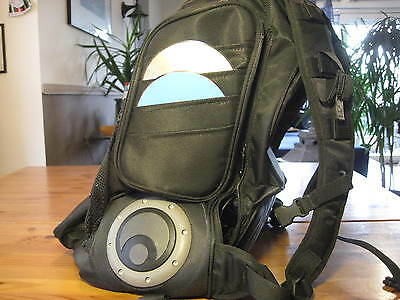 Osiris G-Back Metatron 2100 Skater Backpack Urban Sound System