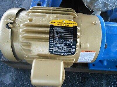 Viking Pump Sg80716-m0v W Baldor Motor Cem3587t 2.0 Hp 208-230460 Rpm