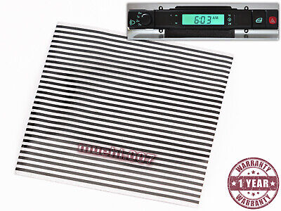 REPLACEMENT DIGITAL CLOCK TIME FOR DAIMLER JAGUAR XJS XJ6 XJR COUPE RIBBON CALBE