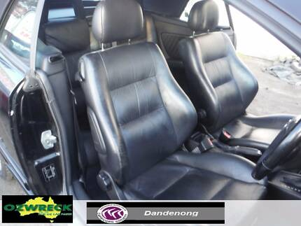 HOLDEN ASTRA TS CONVERTIBLE BLACK LEATHER INTERIOR - SEATS + DOOR Dandenong Greater Dandenong Preview