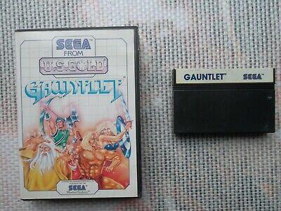 Jeu Master system / Ms Game  Gauntlet + Boite PAL retro SEGA original*