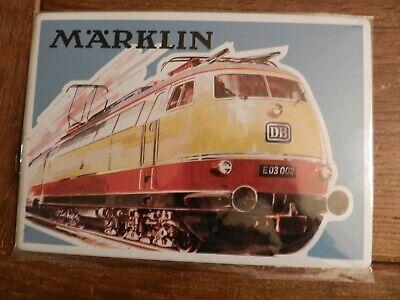 Märklin Blechbild Motiv E - Lok BR 03 - 205 x 145 mm