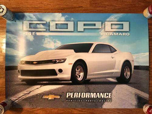 Chevrolet Performance 2014 COPO Camaro Factory Poster NHRA Super Stock RARE
