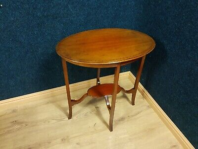 Victorian inlaid table, possible local delivery from northeast.