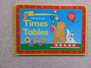 Childrens 'Times Tables' write on wipe off Board book