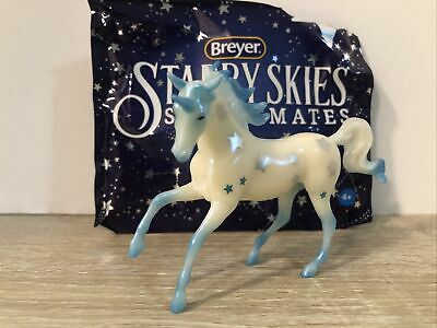 Breyer Stablemates Blue Little Dipper Starry Skies Unicorn Web Special #712310