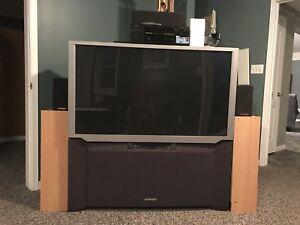55 inch TV with Surround Sound
