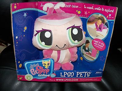 Littlest Pet Shop Online LPSO LPS Pink Ladybug Lady Bug Plush New Animal Toy - Online Children Shopping