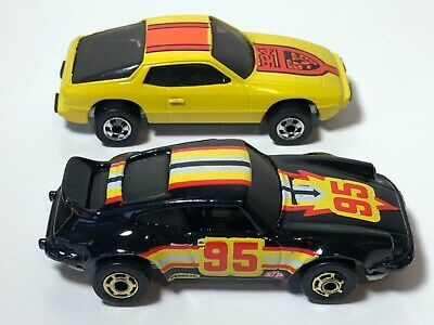 Vintage Hot Wheels Porsche Upfront 924 HK & Porsche P-911 Turbo Black Gold Ones