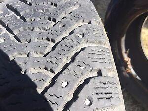 2 185/65r14 studded tires