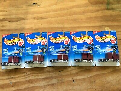 1996 Hot Wheels Thunder Roller #483 (Five)