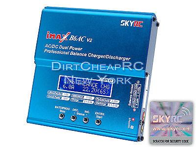 Genuine Authentic Skyrc Imax B6ac V2 6Amp Acdc Lipo Nimh Battery Balance Charger