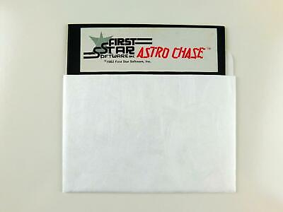 Atari 400 / 800 Computer ASTRO CHASE Disk by First Star Software