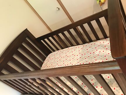 Boori Country Classic Cot and mattress