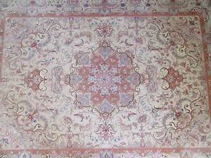 100% Persian Silk Carpet made by hand (pair) Hornsby Hornsby Area Preview