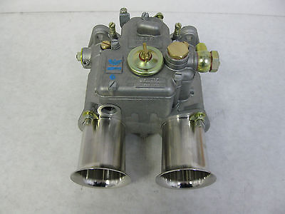 GENUINE WEBER 45 DCOE 9 CARBURETOR 19600.017  W/ 65 MINUTE DVD 45 DCOE NEW