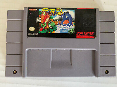Super Mario World 2: Yoshi's Island 1991 Super Nintendo, SNES MADE IN JAPAN