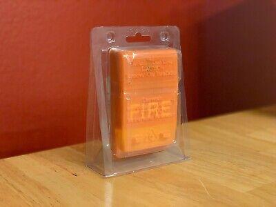 Nib New Est Edwards G1rf-cvm Fire Alarm Chime Strobe Wall Red