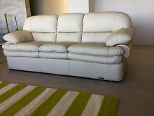 Genuine leather lounge suite Yanchep Wanneroo Area Preview