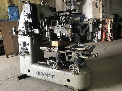 Kampf Deckel Fk3-3523d Pantograph Engraving Milling Machine Engrave 10000rpm