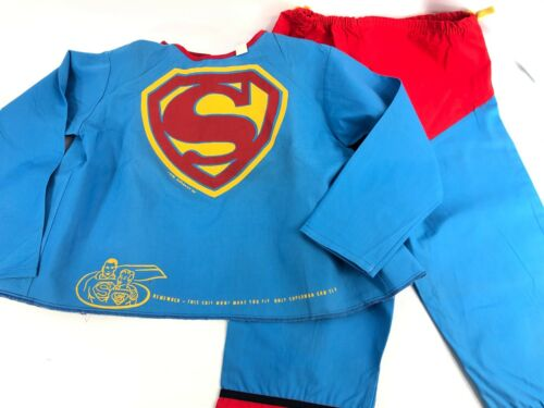 Rare Mid-50s Ben Cooper Superman Playsuit Costume Shirt/Pants in NM Condition!