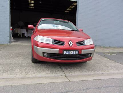 2006 Renault Megane Convertible REG&RWC FINANCE AVAILABLE  TAC Reservoir Darebin Area Preview