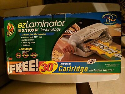 Ez Laminator Xyron Technology Cold Laminating Machine And Partial Cartridge