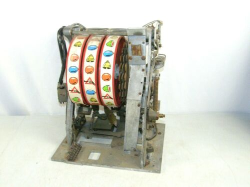 Vintage 3 Reel Slot Machine Mechanism Chassis Parts