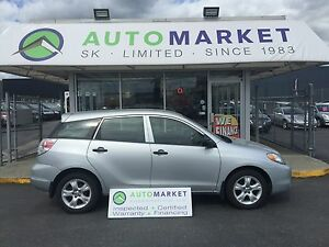2006 Toyota Matrix XR 2WD AUTO! WARRANTY TOO!
