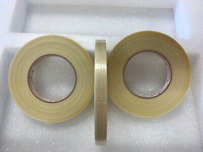 3 Rolls 12 X 60 Yards Fiberglass Reinforced Filament Tape