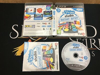 uDraw Studio Instant Artist - Sony Playstation 3 (PS3) TESTED/WORKING UK PAL segunda mano  Embacar hacia Spain