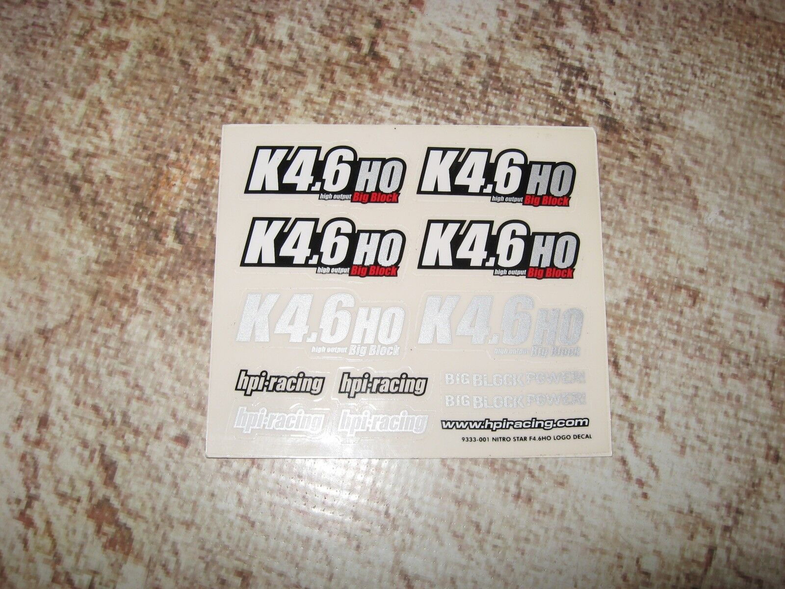 vintage rc 1 10 decal sheet 1
