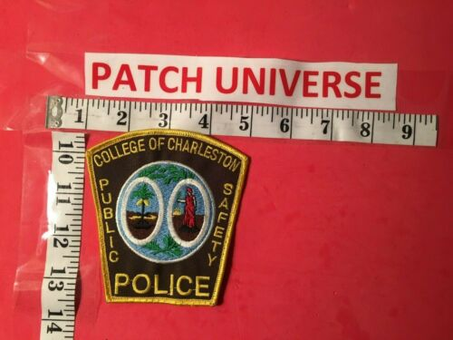 COLLEGE OF CHARLESTON PUBLIC SAFETY  SHOULDER PATCH  S020