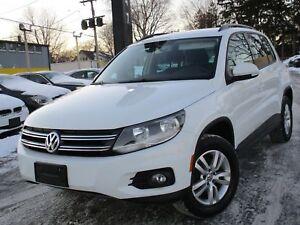 2015 Volkswagen Tiguan ONE OWNER ~ 96,000KMS ~ 6 SPEED MANUAL !!
