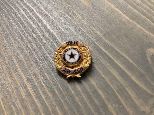 10K Gold American Legion Past President Pin