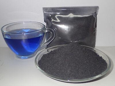 100% Thai Pure Natural Dried Butterfly Pea-Powder-Blue Flowers Tea Healthy