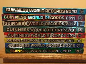 Guinness World Record Hardcover Books