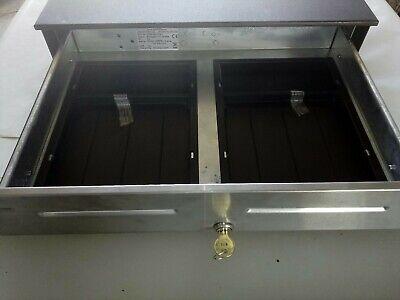 Apg Cash Drawer Model Jd320-bl1816c Heavy Duty W Keys.