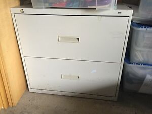 HON 2 Drawer Lateral File Metal Cabinet