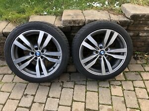 """Bmw X5 X6 M OEM Mags and Winter Tires Staggered 20"""""""