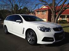2014 FIRST REG HOLDEN COMMODORE VF SV6 WAGON Castle Hill The Hills District Preview
