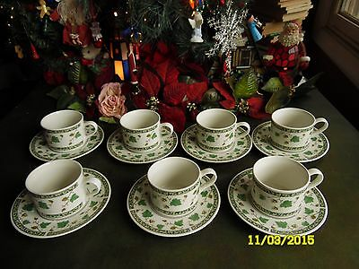 2 PIECES SANGO IVY CHARM STONEWARE # 8854 1- CUP 1- SAUCER (Ivy Charm)