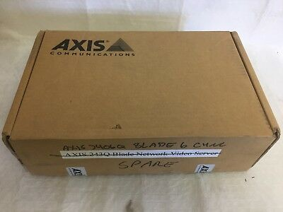 Axis Q7406 Video Encoder Blade Usedtested