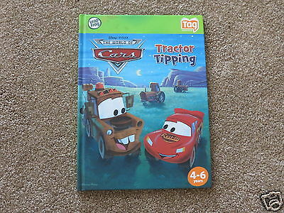 Leap Frog TAG Disney Pixar Cars Tractor Tipping book