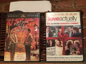 DVDs - When Harry Met Sally and Love Actually