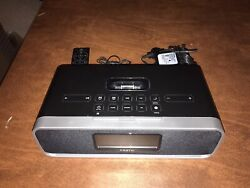 iHome (iA91) Black Ipod Speaker Dock Dual Alarm Clock Radio