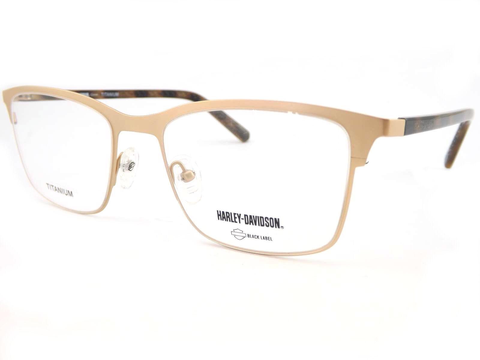 9d72f16b8b88 HARLEY DAVIDSON Rimmed Optical Glasses Spectacle RX Frames Satin ...