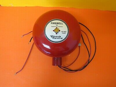 Edwards Signaling 439dex-6aw-r Audible Signal Appliance Fire Bell