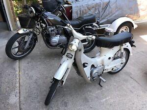 Honda Cub c102 1965